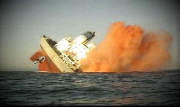 Видео подборка опасных аварий суден
