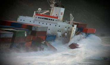 Подборка опасных аварий судов