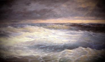Буря на море и экипаж аварийного реагирования Grampian Protector