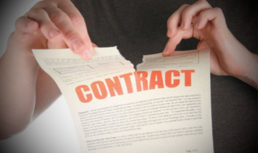 Как скрыть неудачный контракт?