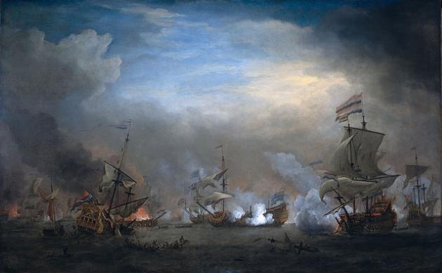 Морские сражения в северной войне