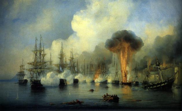 Крупнейшие морские сражения