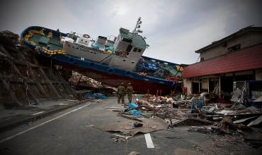 Страшное цунами в Японии 11 марта 2011 года