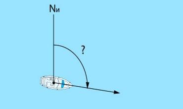 Определение места судна по глубине и пеленгу. Часть — 2