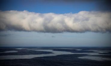 Синоптическая карта и механизм образования облачности во фронтах