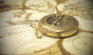 Запись рассчитанной поправки компаса