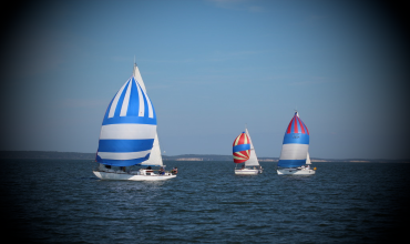 Правила расхождения парусных судов — практическое видео занятие