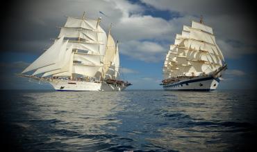 Расхождение суден с моторными двигателями