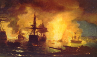 Чесменский бой в истории русского флота
