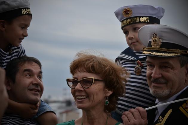 Замуж за моряка
