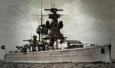 Адмирал Шеер – фашистская угроза Арктике