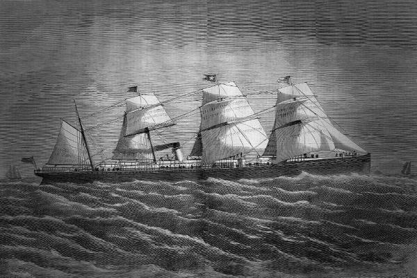 Пароход Атлантик - незавидная судьба