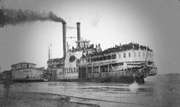Пароход Султанша – речной Титаник