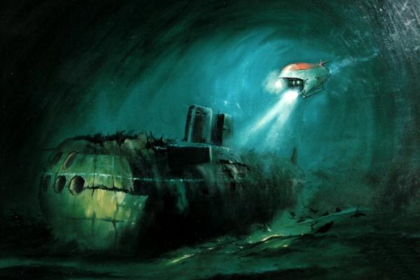 Подводная лодка Комсомолец - последнее погружение