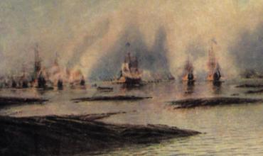 Морские сражения при Петре I