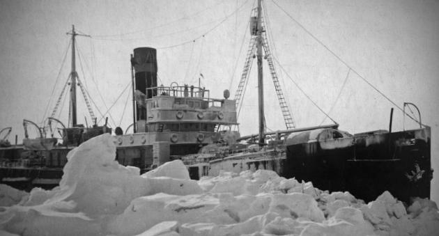 Застрявший во льдах