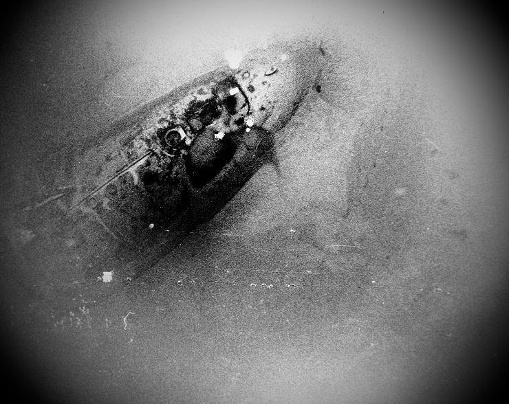 Нос затонувшей подлодки «Скорпион»