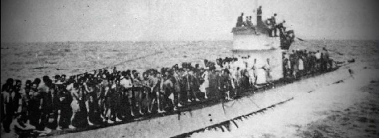 Подлодка U-156