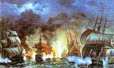 Морские сражения крымской войны