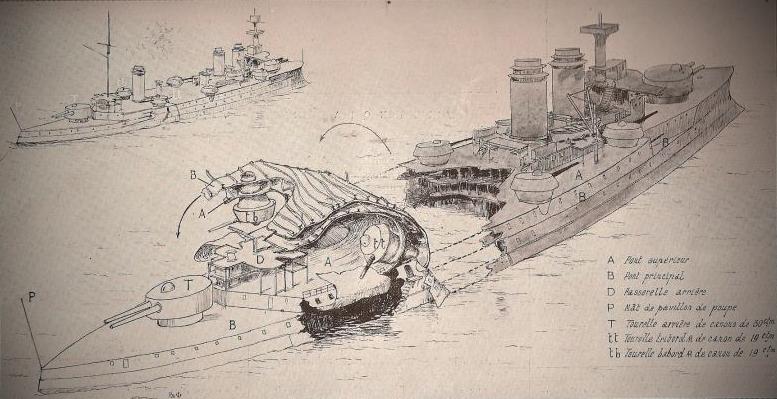 Страшный взрыв на корабле