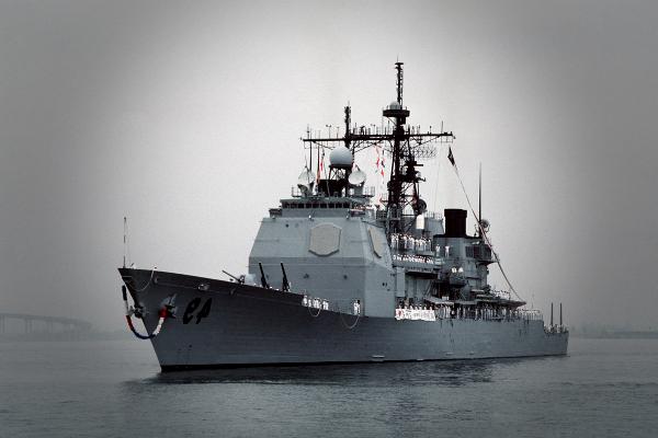 Винсеннес – крейсер военно-морских сил США