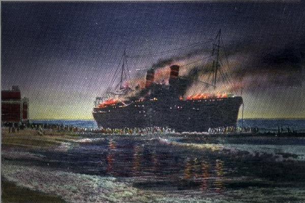 Морро Касл – сожженный дотла