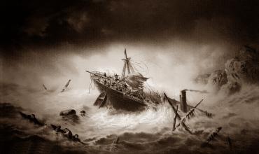 Пароход Ройал Чартер — непреодолимая сила стихии