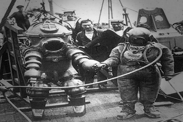 История водолазного дела России