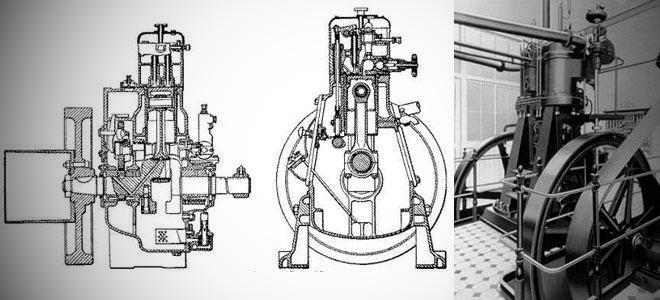 Первый рабочий двигатель Рудольфа Дизеля