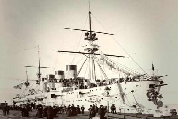 Громобой – броненосный крейсер императорского флота