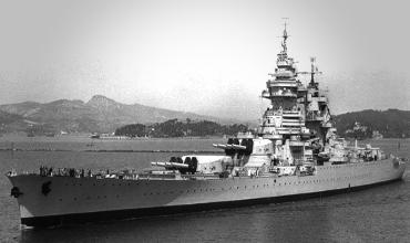 История линейного корабля Ришелье – Дакарский рейд