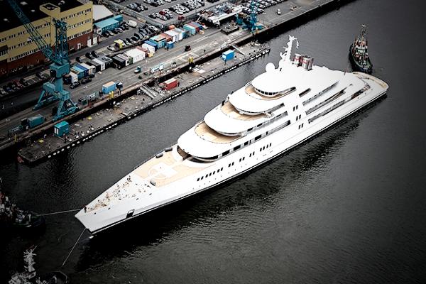Самые дорогие яхты в мире