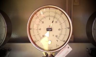 Принцип работы датчиков давления и температуры на газовозах