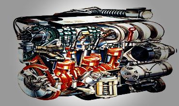 Определение результирующих сил инерции многоцилиндрового двигателя