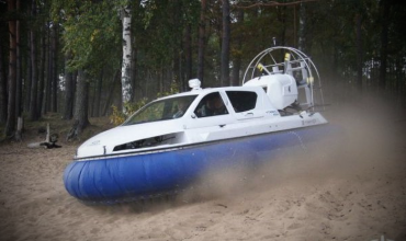 СВП «Арго» Тест — драйв судна на воздушной подушке