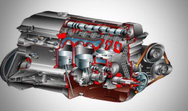 Механическая напряженность дизельного двигателя внутреннего сгорания