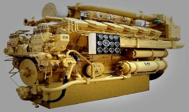 Ограничительные характеристики судового двигателя
