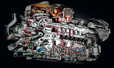 ТНВД клапанного типа с регулированием по началу подачи дизельного топлива