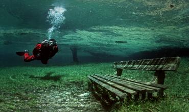 Удивительный водоем — парк Gruner See. Или «Зеленое озеро»