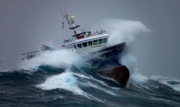 Работа двигателя при волнении моря