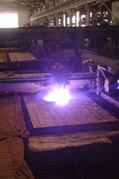 Процесс резки металла
