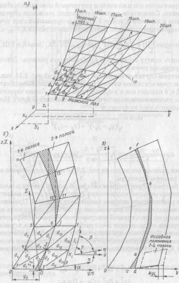 Развертка детали двоякой кривизны методом наименьших площадей