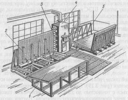Установка для механизированной расконсервации листов из сплава алюминия