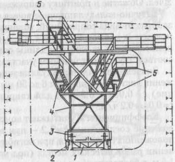 Корпусомонтажный комбайн для сборки бортовой части палубной секции танкера