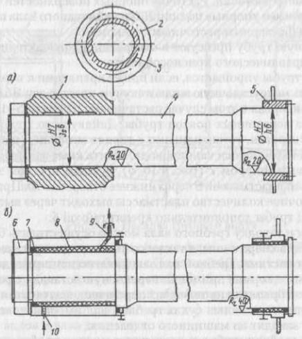 Крепление дейдвудной трубы одновинтового судна