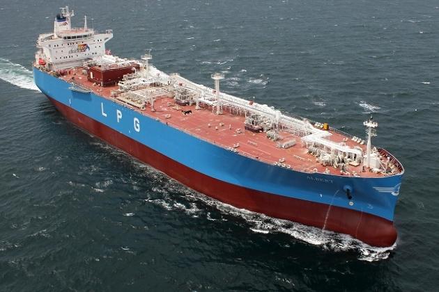 LPG танкер