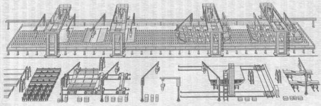 Механизированная линия ДБС-8