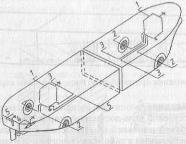 Схема автоматической катодной защиты