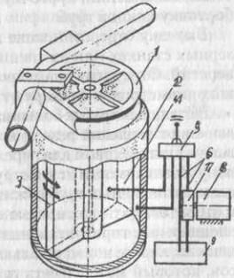 Схема станка для холодной гибки труб наматыванием