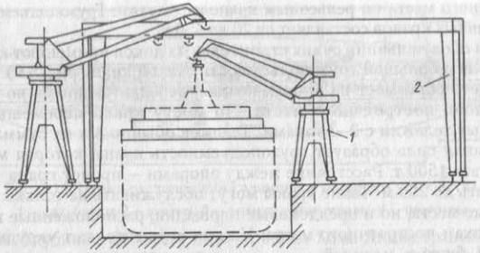Схема строительного дока